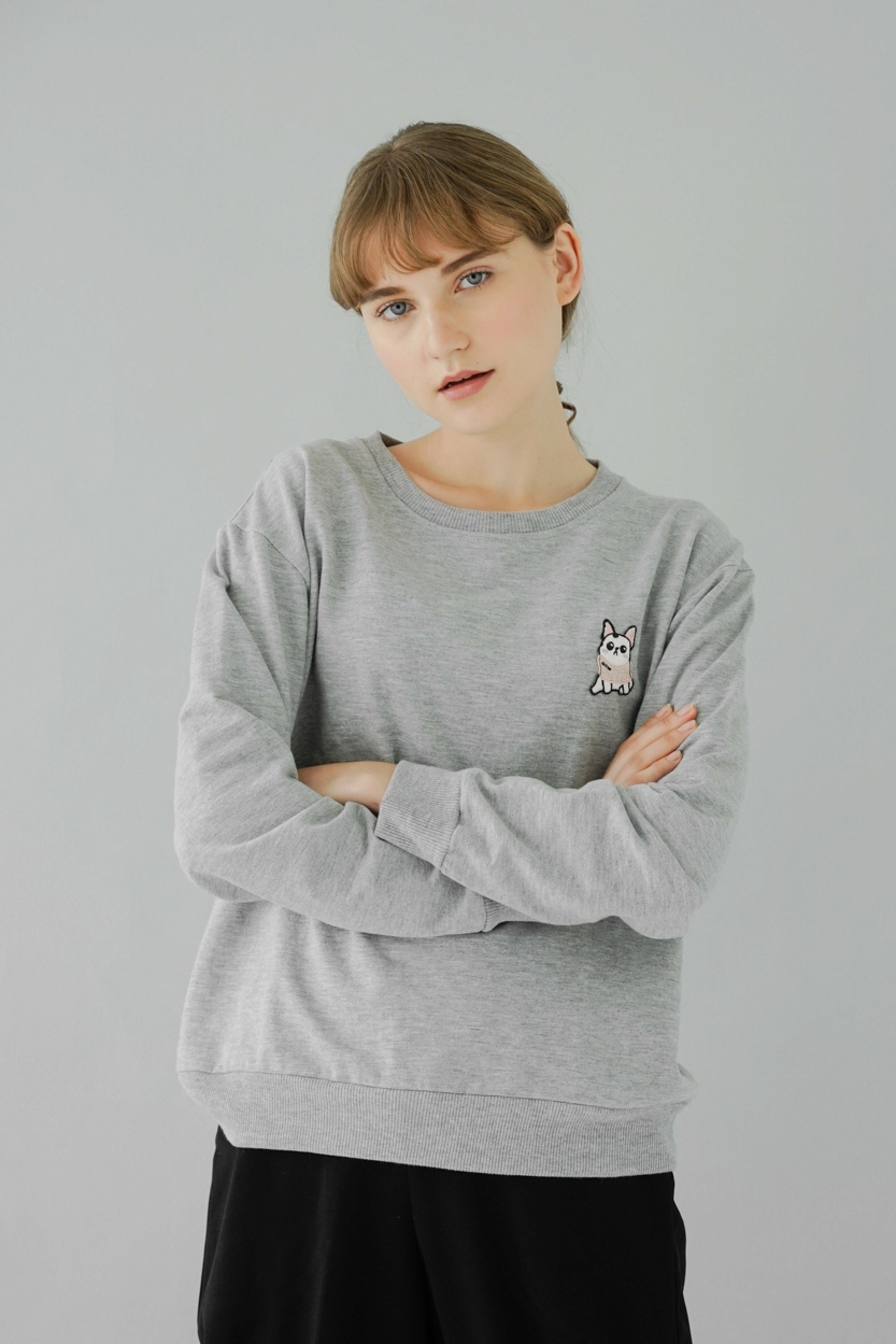 Picture of Hallie in Grey