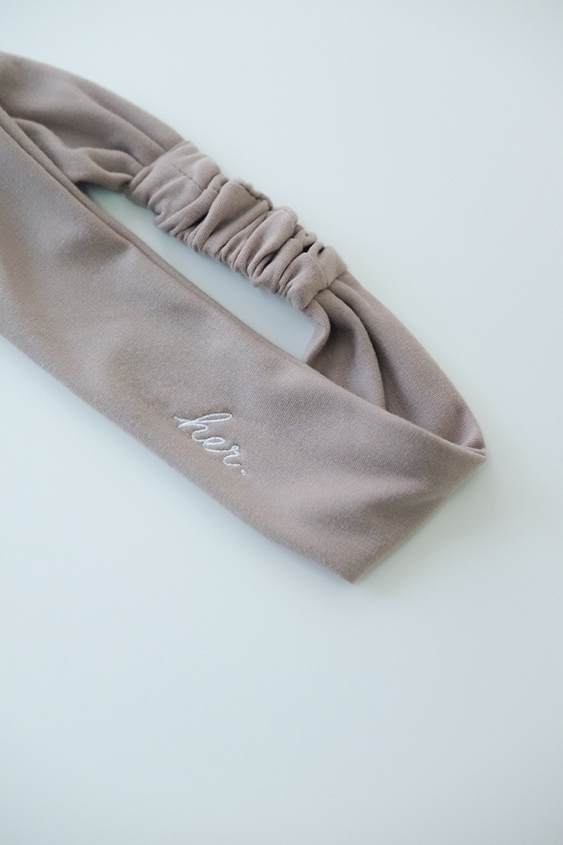 Picture of HER Headband in Creme